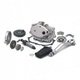 4-SPEED POLISHED KICKSTART KIT