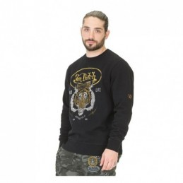 VON DUTCH TIGER SWEATER BLACK