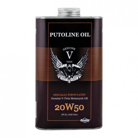 PUTOLINE 20W50, 1L, API SI, JASO MA2