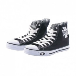 WCC BLACK/WHITE SHOES, 39