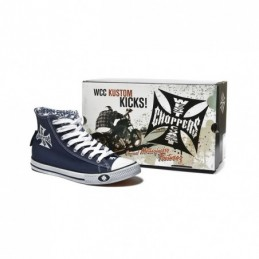 WCC WARRIORS NAVY SHOES