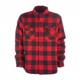 DICKIES LANSDALE SHIRT RED