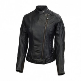 RSD LEATHER JACKET RIOT BLACK