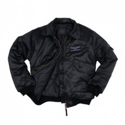 HEAVY CWU JACKET BLACK