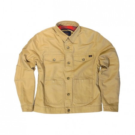 DICKIES M/C HOG CANVAS JACKET SAND