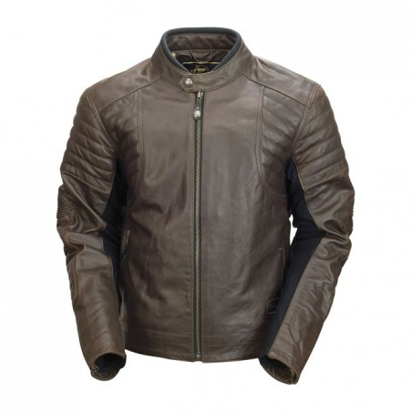 RSD LEATHER JACKET BRISTOL TOBACCO