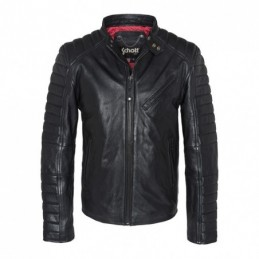 SCHOTT RACER JACKET BLACK