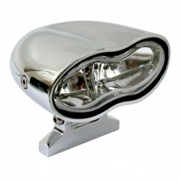 OVAL DOUBLE HEADLAMP, CLEAR...