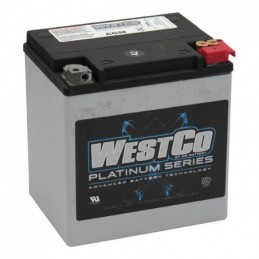 WESTCO, AGM BATTERY. 12V,...