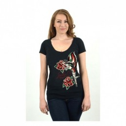 LUCKY 13 ROSE FAIRY T-SHIRT...
