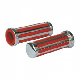 RAIL GRIPS, RED INLAY