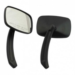 SQUARE DOC MIRROR SET