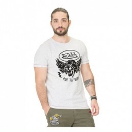 VON DUTCH DEATH T-SHIRT GREY