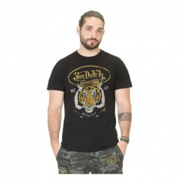 VON DUTCH TIGER T-SHIRT BLACK
