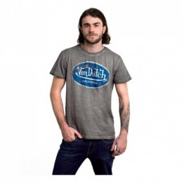 VON DUTCH AARON D T-SHIRT GREY