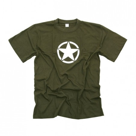 VINTAGE WHITE STAR T-SHIRT