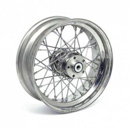 SS WHEEL, 5.50 X 16. 40 SPOKE